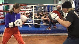 Китэк! Звезда Инстаграма и Чемпионка Мира Светлана Андреева! Женский бокс на 8 марта!