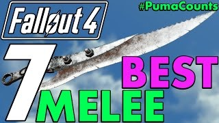 Top 7 Best Melee Weapons in Fallout 4 Including DLC and Survival PumaCounts