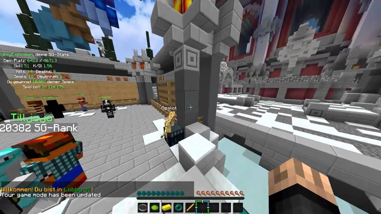 Wie Spiele Ich Minecraft Survival Games So Gehts YouTube - Minecraft survival games kostenlos spielen