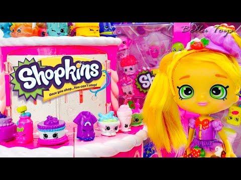 🍧ma-collection-de-shopkins-😋🍪saison-6-&-7-joins-toi-a-la-fÊte!🍩deballage-jouets-en-francais🍭