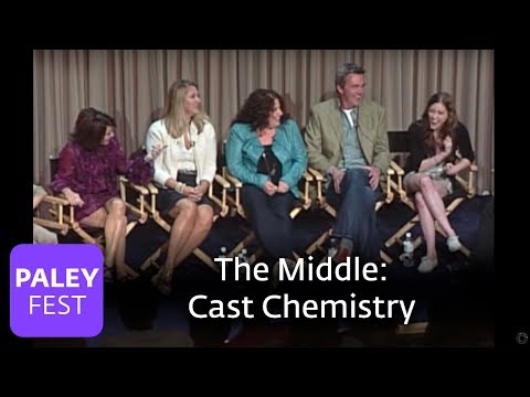 The Middle  Patricia Heaton, Eden Sher on Cast Chemistry Paley