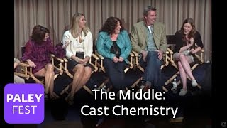 the middle patricia heaton eden sher on cast chemistry paley interview