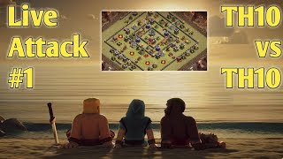 Live Attack #1 | Clash of Clans | Hindi