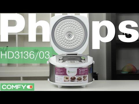 Мультиварка PHILIPS HD 3036/03 - YouTube