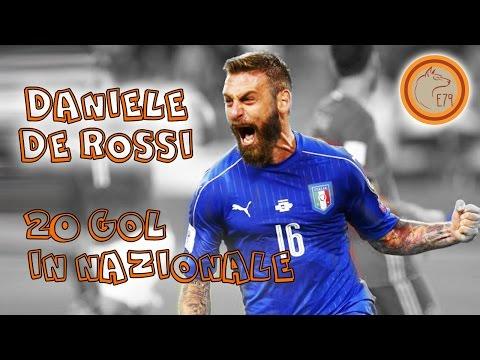 Daniele De Rossi 20 goals in nazionale