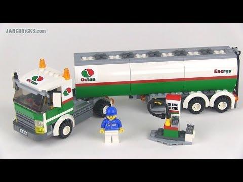 LEGO City 3180 Tank Truck set review!