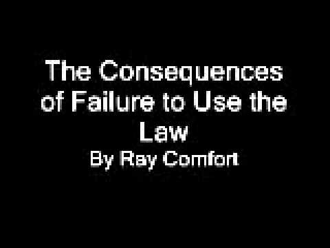 The Consequences of Failure to Use the Law.wmv