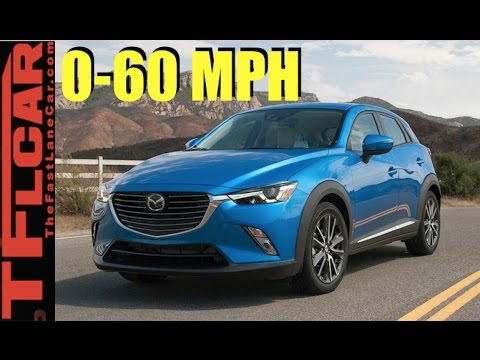 Live! 2017 Mazda CX-3 AWD 0-60 MPH Review: How fast is the CX-3?