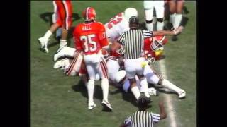 1985 Clemson vs Virginia Football Highlights