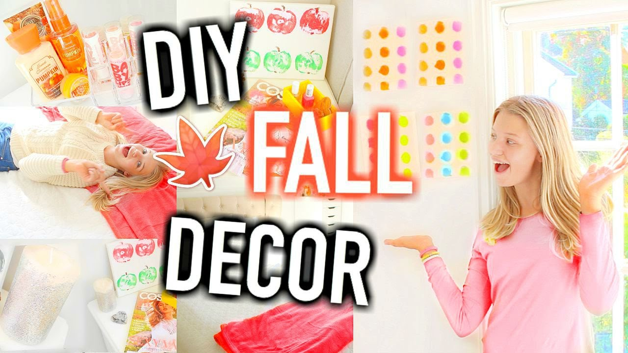 Diy fall room decor easy ways to make your room cozy tumblr diy fall room decor easy ways to make your room cozy tumblr inspired youtube amipublicfo Image collections