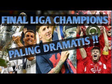 Deretan Final Liga Champions Paling Dramatis Sepanjang Masa !!