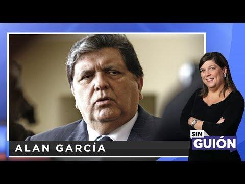 Alan García - SIN GUION con Rosa María Palacios