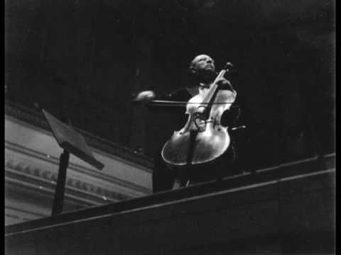 Pablo Casals: Schumann Cello Concerto (1/3)