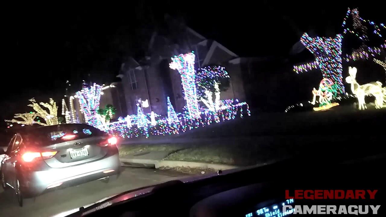 christmas lights at deerfield plano tx - Plano Christmas Lights
