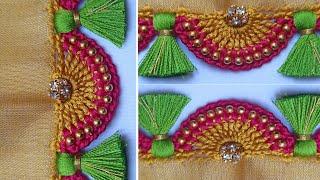 Saree Kuchu #72 // ಸೀರೆ ಕುಚ್ಚು /Bridal Saree Kuchu Design tutorial for beginners /Siri Creations