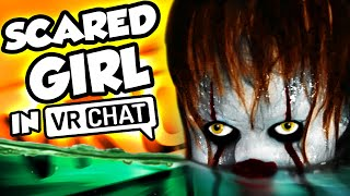 Pennywise Voice TERRIFIES GIRLS in VRCHAT!!! (IT Voice Trolling)