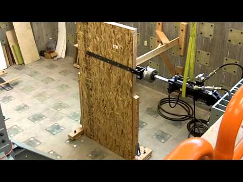 Shear Wall Test Youtube