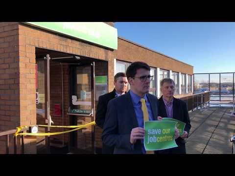 Easterhouse Jobcentre closure - 9th Feb 2018