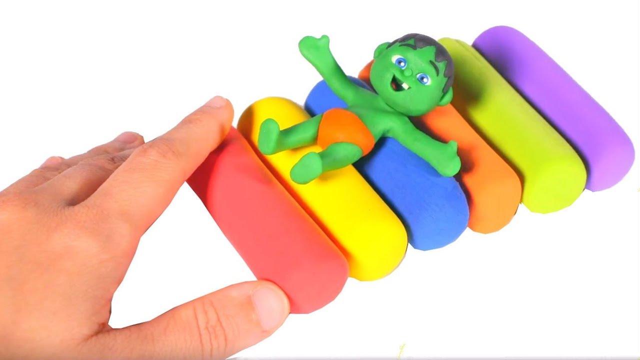 SUPERHERO BABIES PLAY WITH PLAY DOH ❤ SUPERHERO BABIES PLAY DOH CARTOONS FOR KIDS