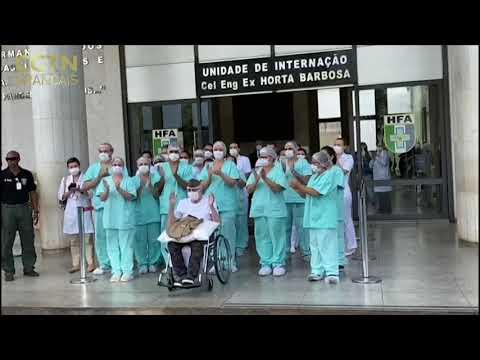 À 99 ans, un ancien combattant de la Seconde guerre mondiale guéri du coronavirus au Brésil