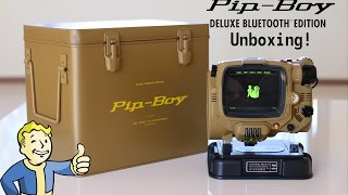 Pip-Boy Deluxe BlueTooth Unboxing