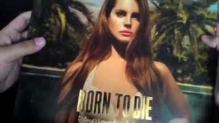 Unboxing - Lana Del Rey - Born To Die The Paradise Edition - CD + LP