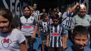 La visita de Atención y Vinvulación Ciudadana al Tour del Estadio BBVA.