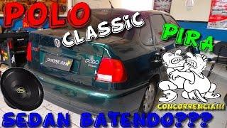 polo classic carro sedan bate bem olha ai video 8 junior som