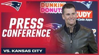 New England Patriots Postgame Press Conferences
