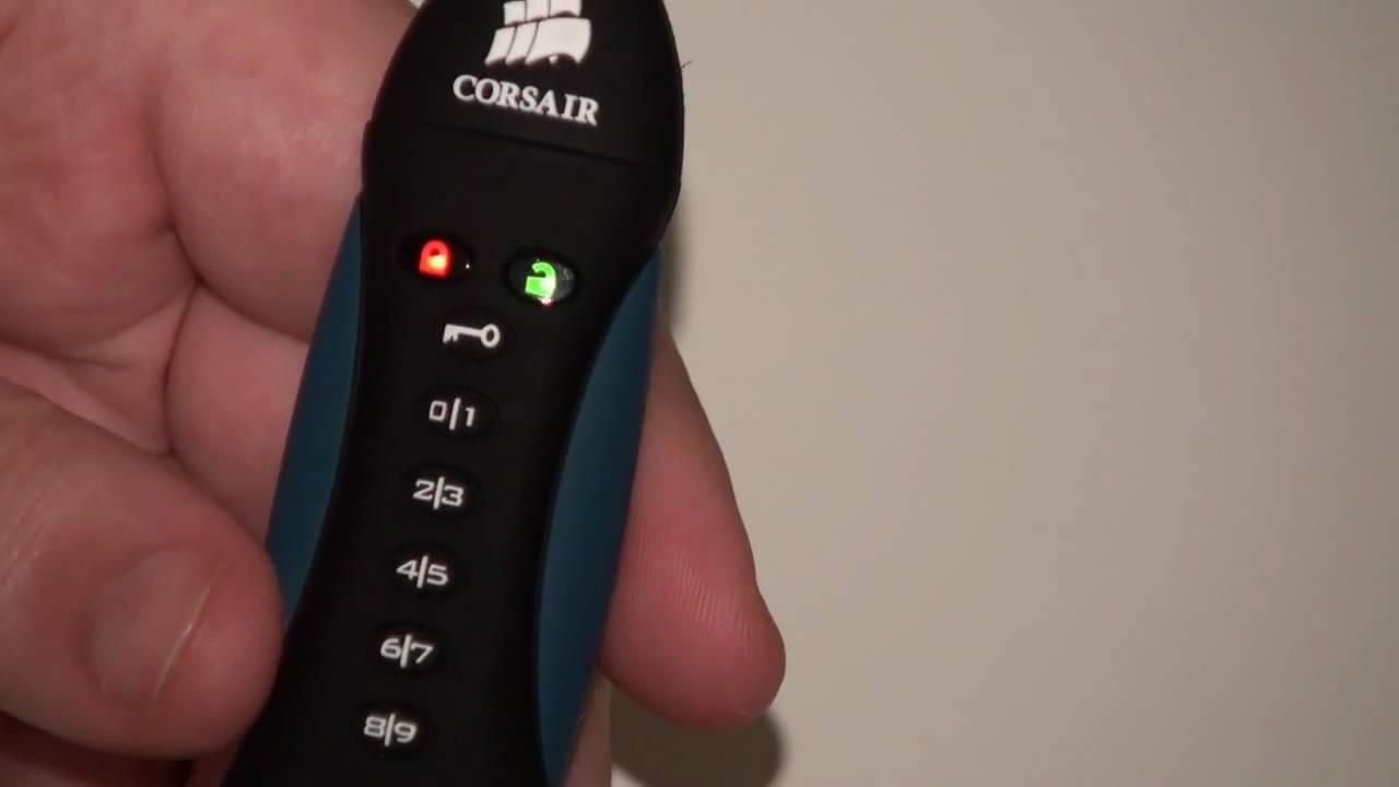 Corsair flash padlock 2: getting started youtube.