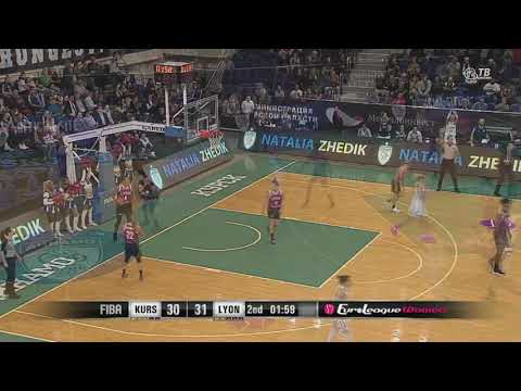 Dynamo Kursk 3 pointers in Dynamo Kursk vs  LDLC ASVEL Feminin