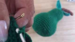 Pera Tejida a crochet (PARTE 2 DE 3)