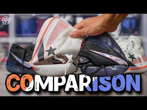 Converse All Star Pro BB & Nike Kobe AD NXT 360 Detailed COMPARISON!