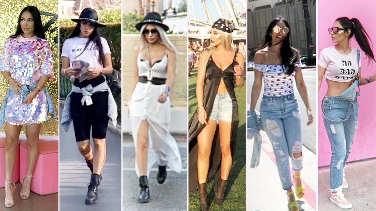 LOOKBOOK : 6 tenues à Coachella et Los Angeles ! (avec Estelle)