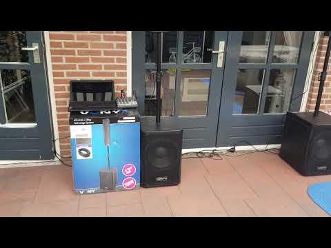 VONYX 1500 WATT sound test