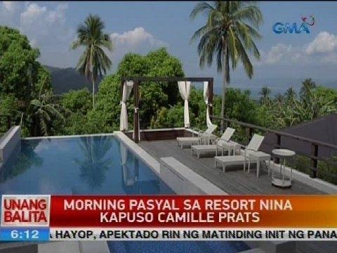 UB: Morning pasyal sa resort nina Kapuso Camille Prats