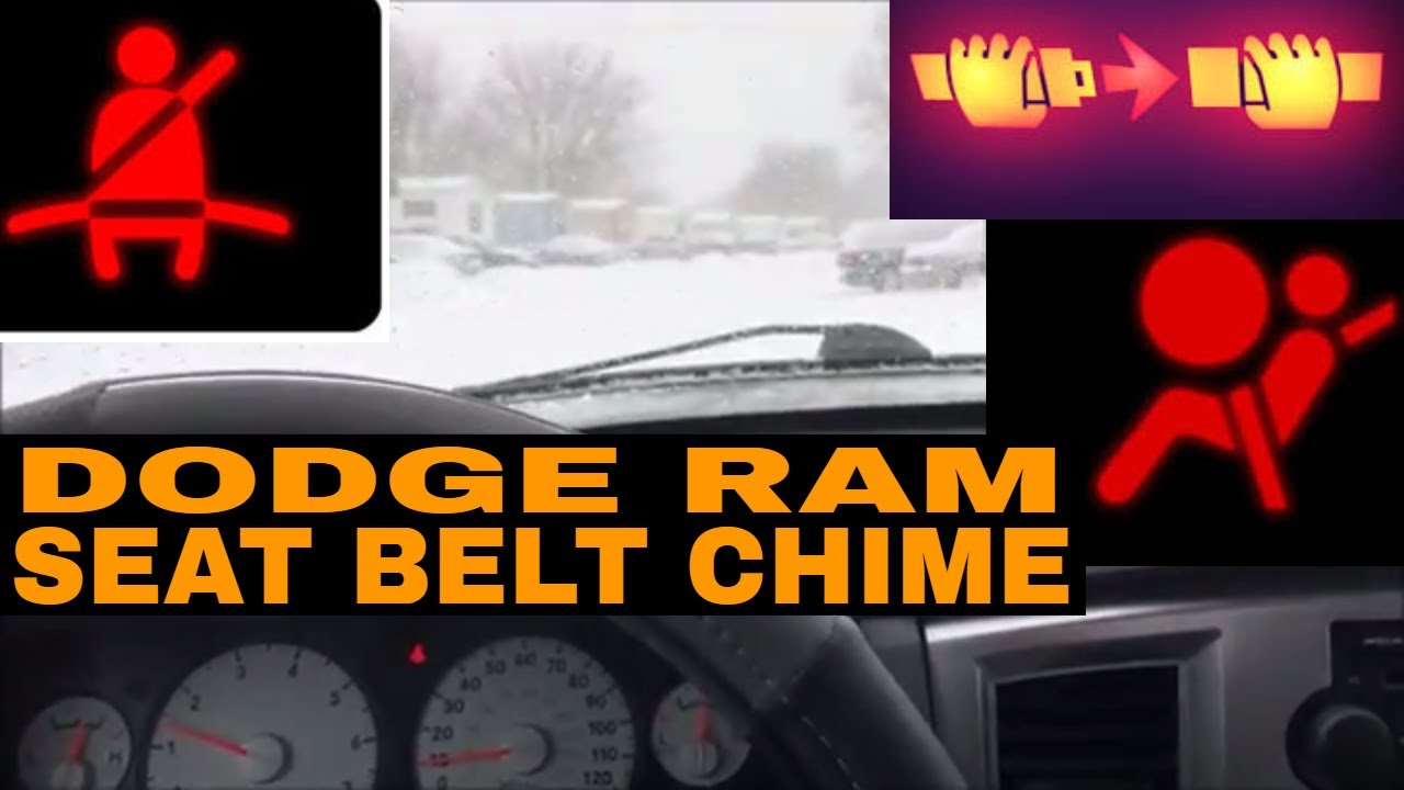 seatbelt chime dodge ram wiring harness 2001 wiring diagram post how to disable dodge ram seat [ 1280 x 720 Pixel ]