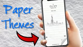 Special Paper themes for EMUI 5 and EMUI 8 Devices