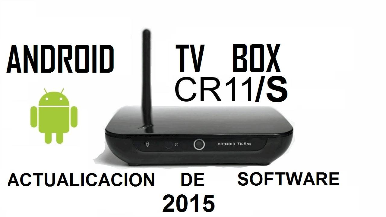 Actualizar el software del Android Tv Box CR11/S CloudnetGo