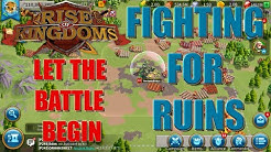 Fighting for Ruins begin - 1 man army - Let the battle begin - Rise of Kingdoms