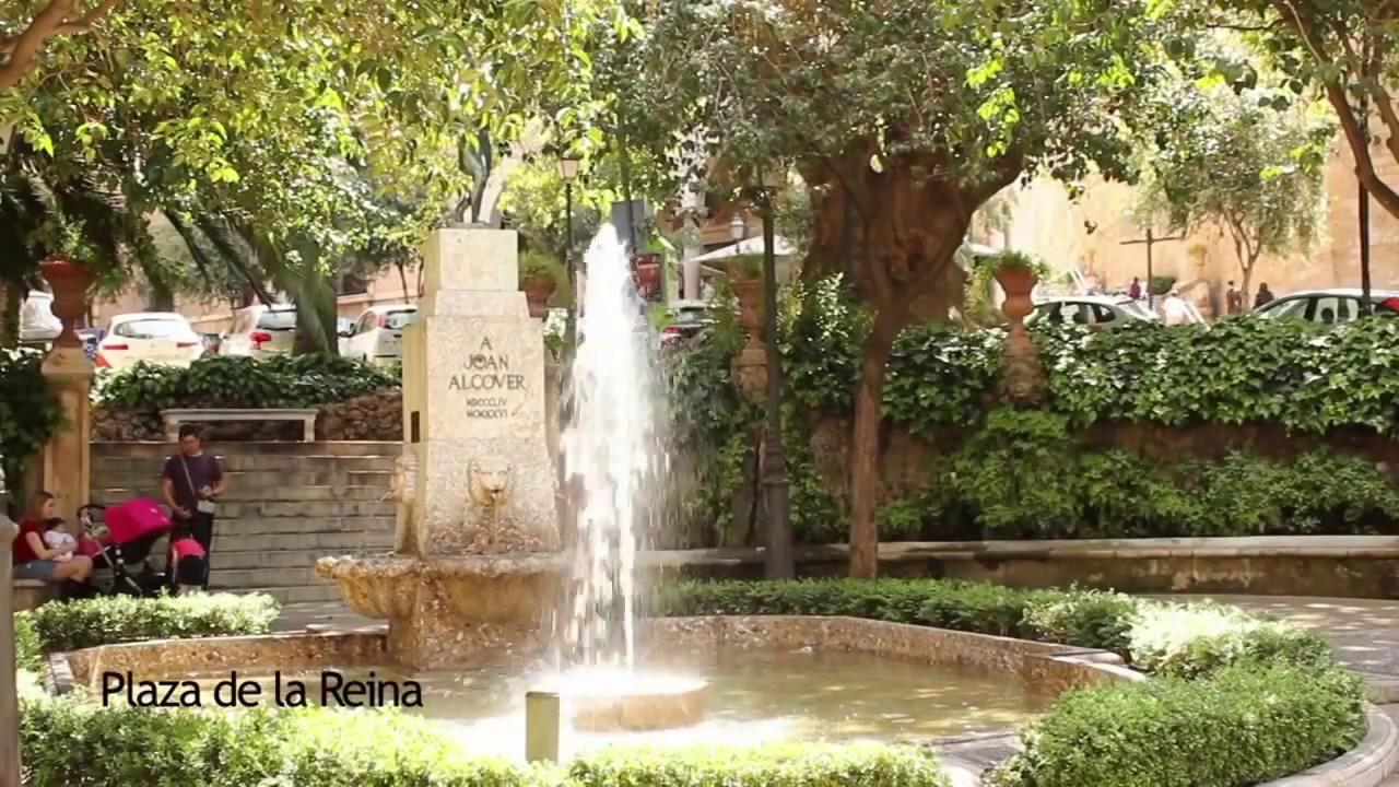 Plaza De La Reina Palma De Mallorca City Walk
