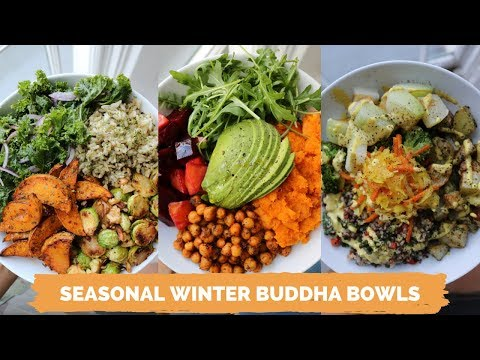 PLANT-BASED WINTER BUDDHA BOWLS // Easy + Delicious
