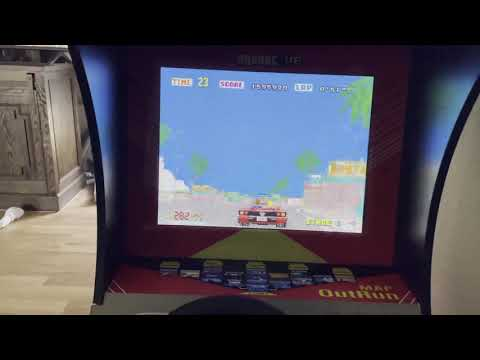 Arcade1Up Outrun from Duke Lee
