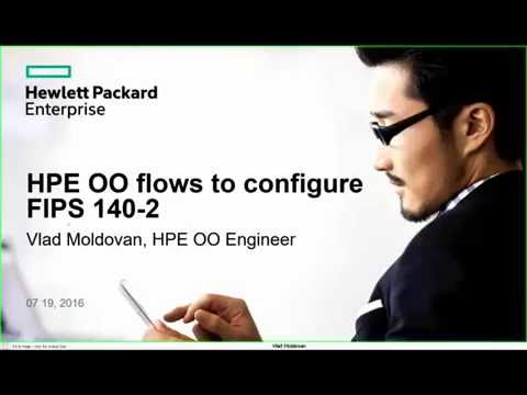 HPE OO Flows to configure FIPS 140-2 for OO