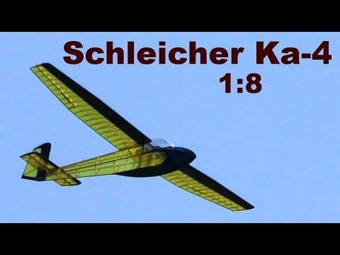 Download Schleicher Ka-4 Rhönlerche, mini scale (1:8) RC glider, 2020