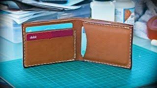 Cómo Hace Billetera de Cuero Básico