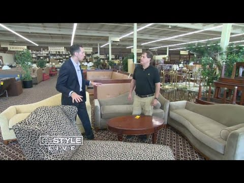 Ryan Visits Universal Hotel Liquidators for Glamorous Furniture Without Breaking The Bank