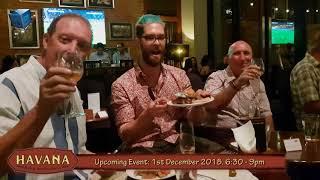 UPCOMING EVENT: Wine Tasting evening, Havana Bar - Holiday Inn Pattaya . 1st December 2018
