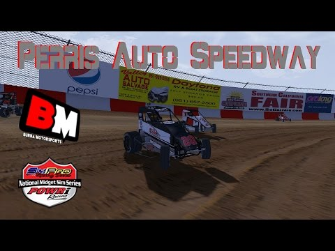 Brennan Rogers | Simpro Racing Midget A-Main | Perris Auto Speedway