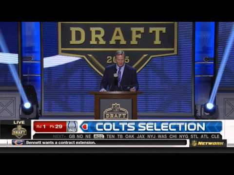 (HD) NFL 2015 Draft Selection - Colts Select Phillip Dorsett #28th